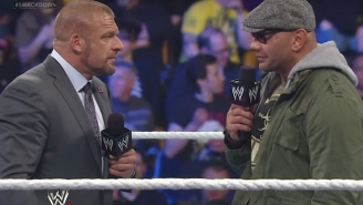 Batista Says WWE's WrestleMania 34 Plans For Him Included Ronda Rousey