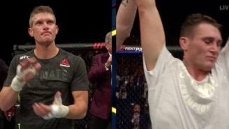 Darren Till Upsets UFC No.1 Contender Wonderboy Thompson In Liverpool