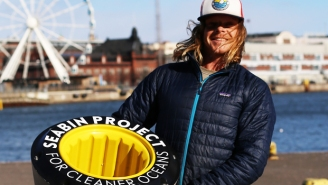 This Surfer Is Using Technology To Clean Our Oceans
