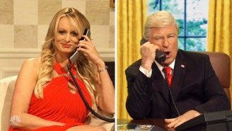 Stormy Daniels Shows Up As Herself To Play Phone Tag With Donald Trump And Michael Cohen On 'SNL'