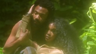 Donald Glover Pursues SZA Through An Island Fantasy In Her 'Garden (Say It Like Dat)' Video