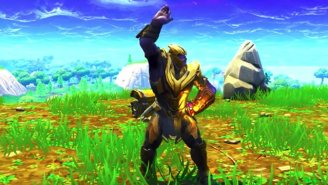 Thanos Is Dancing Around 'Fortnite' And It's Ridiculously Goofy