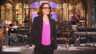 Tina Fey Takes A Heartwarming Trip Down Memory Lane For Her Return To 'SNL'