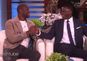 Dwyane Wade Surprised Waffle House Hero James Shaw On 'Ellen'
