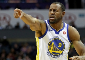 Andre Iguodala Says He Actually Had A Leg Fracture Last Year When The Warriors Called It A 'Bone Bruise'