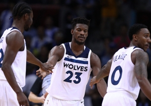 Jimmy Butler Allegedly 'Had Problems' With Teammate Andrew Wiggins