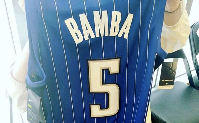 Mo Bamba Will Wear No  5 For The Magic, Making Lou Bega Fans