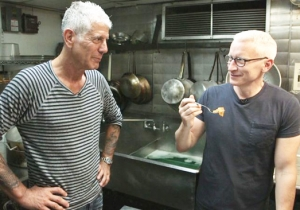 Anderson Cooper Shares An Emotional Goodbye To Anthony Bourdain: 'He Loved And Was Loved In Return'