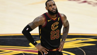 LeBron 'Pretty Much Played With A Broken Hand' After Punching A Board After Game 1