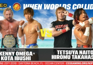 The New Japan Pro Wrestling Show At CEO 2018 Will Stream On Twitch And The Card Is Stacked