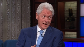 Stephen Colbert Gives Bill Clinton Another Chance To Reflect On Monica Lewinsky: 'It Wasn't My Finest Hour'
