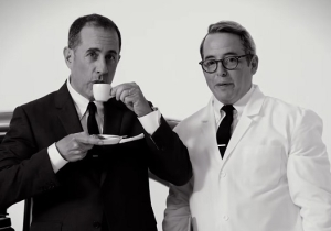 The New 'Comedians In Cars Getting Coffee' Trailer Thinks You Watch Too Much TV