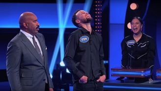 Ayesha And Steph Curry Dominated The Fast Money Round Of 'Celebrity Family Feud'