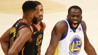 Here's Video Of Draymond Green Telling Tristan Thompson 'I Don't F*ck With You' After The NBA Finals
