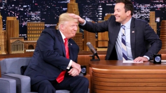 Jimmy Fallon Responds To Trump's 'Be A Man' Tweet With A Donation To A Non-Profit For Refugees