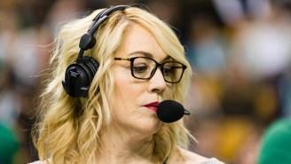 Here's The Doris Burke Basketball Mixtape You Never Knew You Needed