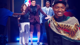 Suit Shorts And Velvet Jackets Highlight The Winners And Losers Of NBA Draft Night Fashion