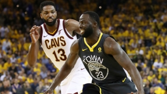 Cavs Fans Are Throwing Tristan Thompson A Parade For Allegedly Punching Draymond Green