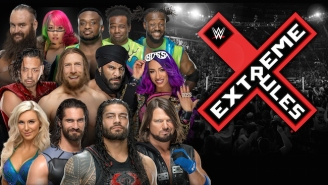 This Arena Ad Offers Some Spoilers About The WWE Extreme Rules Card