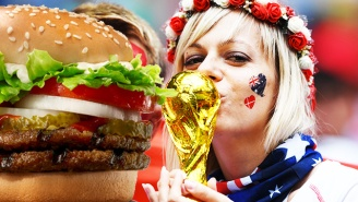Burger King Russia Offers Free Burgers If You Get Pregnant By A Soccer Player