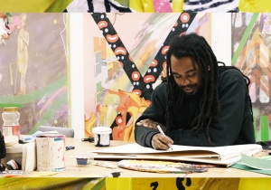 This Artist Uses His Work To Wrestle With Issues Of Identity