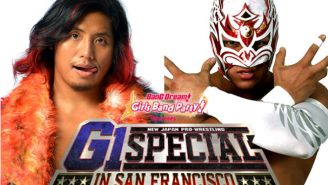 Here's The Full Extremely Good Card For New Japan's G1 Special In San Francisco