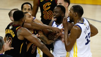 Game 1 Ended With An Altercation Between Tristan Thompson And Draymond Green