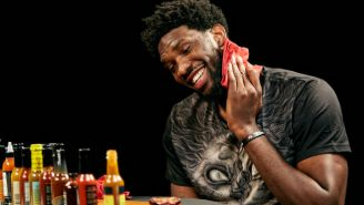 Joel Embiid Explained How He Made T.J. McConnell Furious Playing Video Games On 'Hot Ones'