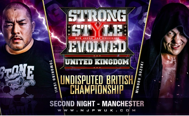 Here's The Card For The RevPro/NJPW Strong Style Evolved UK