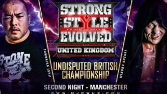 RevPro Announced The Card For Their Upcoming Strong Style Evolved UK Event With New Japan Pro Wrestling