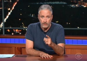 A Fiery Jon Stewart Took Over 'The Late Show' To Address Trump Directly: 'We Will Prevail'