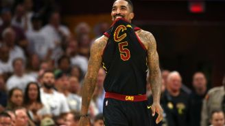 J.R. Smith Admits He Wasn't 'Sure Of Anything' At The End Of Regulation In Game 1