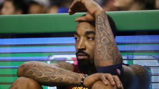 J.R. Smith Got A Tattoo To Pay Homage To Nipsey Hussle
