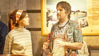 Ethan Hawke Returns To Romcom Territory As A Rock Star Wooing Rose Byrne In The 'Juliet, Naked' Trailer