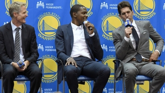 Warriors GM Bob Myers Joked Kevin Durant Didn't Deserve A Contract Like Steph Curry's, And No One Laughed