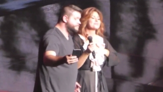 Kevin Owens Went On Stage With Shania Twain And Didn't Even Powerbomb Her