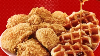 Facing Down An Urban Myth To Test KFC's New Chicken And Waffles