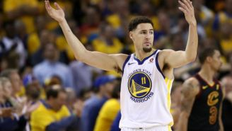 Klay Thompson Will Play In Game 2 Despite His Sprained Ankle