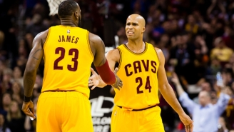 Richard Jefferson And Channing Frye Had A Hilarious Reaction To LeBron Passing Jordan