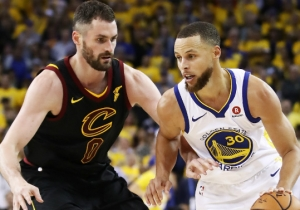 Kevin Love Had A Sarcastic Response To Steph Curry's Take On Their Famous 2016 Finals Battle