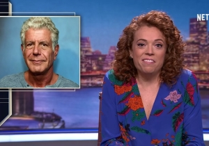 Michelle Wolf Addresses Anthony Bourdain And Kate Spade's Suicides, And The Stigma Of Mental Health