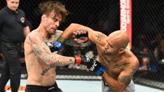 CM Punk Lasts All Three Rounds In His Second UFC Fight, But Gets Dominated By Mike Jackson