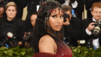 Nicki Minaj Channels Ancient Egyptian Ruler Cleopatra On Her Revealing 'Queen' Cover