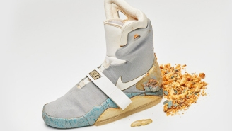 A Nike Mag Is Fetching A Massive Price, Despite Its Deterioration