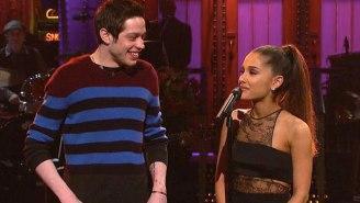 Ariana Grande Responds To The Controversy Around Pete Davidson's Manchester Bombing Joke