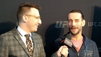 CM Punk Insists That He's 'Done With Professional Wrestling'