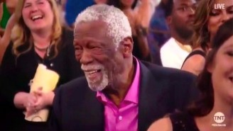 Bill Russell Flipping Off Charles Barkley Was The Best Part Of The NBA Awards Show