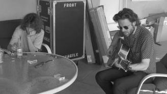 Watch Some Some Behind-The-Scenes Footage Of Father John Misty Recording 'God's Favorite Customer'