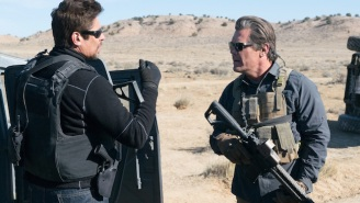 'Sicario: Day Of The Soldado' Director Stefano Sollima Explains Why Benicio del Toro Shoots His Gun So Weirdly