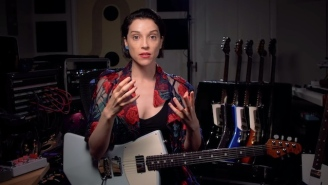 St. Vincent Talks About Creativity And Her Signature Guitar In A New Mini Documentary